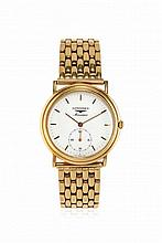 MEN'S GOLD WRISTWATCH LONGINES, '80S