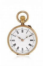 """TWO GOLD POCKET WATCHES, SIGNED """"DUREAN"""