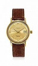 GENTLEMEN'S GOLD WRISTWATCH LONGINES CONQUEST MODEL REF. 8258-1, '60S