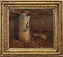 MARIO MORETTI FOGGIA 1882-1954 Studio di interno 1