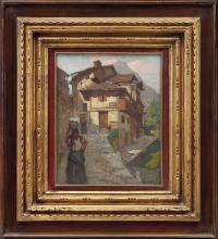 MARIO MORETTI FOGGIA 1882-1954 Saviore, Val Camoni
