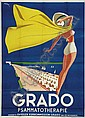 Advertising poster tourism - GRADO, Mario Puppo, Click for value