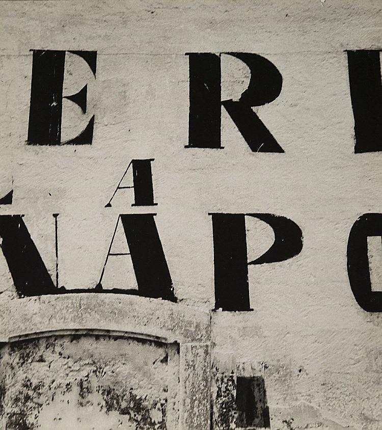 Mimmo Castellano  1932 - Muro scritte Statte  1962