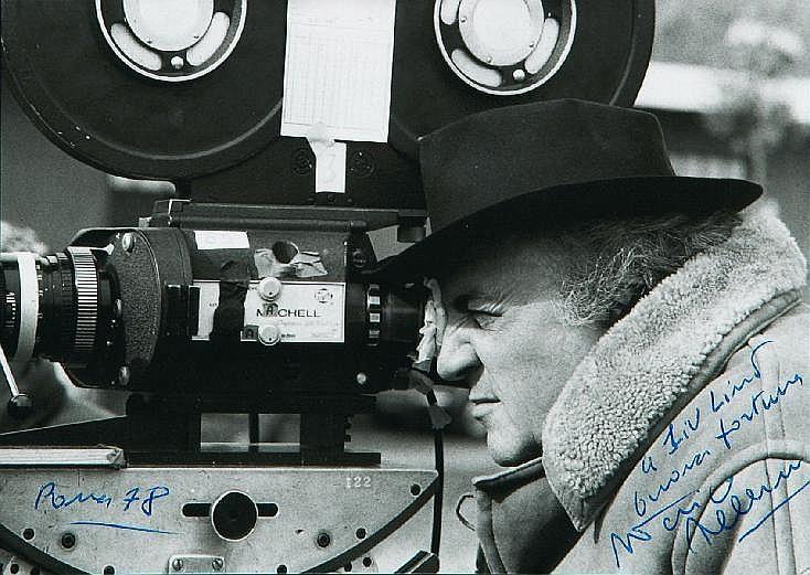 Federico Fellini (1920-1993) and Giulietta