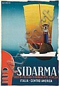 POSTERS - SIDARMA, Giuseppe Riccobaldi, Click for value