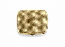 TWO TONE GOLD POWDER COMPACT