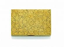 YELLOW GOLD SNUFF-BOX, BUCCELLATI