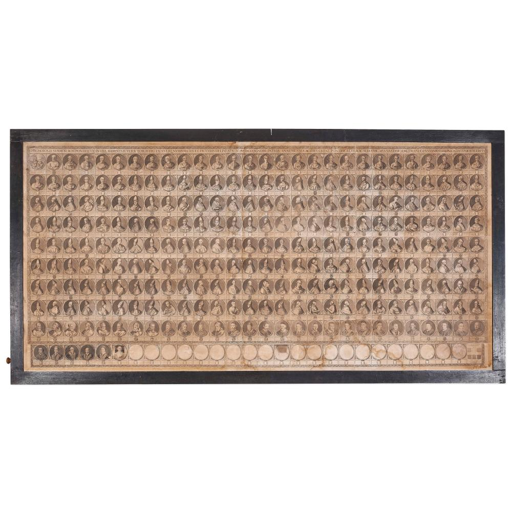 PIETRO AQUILA 1630-1692 CHRONOLOGIA SUMMOR ROMANORUM PONTIFICUM - CHRONOLOGIA SUMMOR ROMANORUM PONTIFICUM