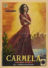 Carmela con Doris Duranti