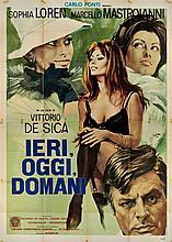Ieri oggi e domani con Sophia Loren