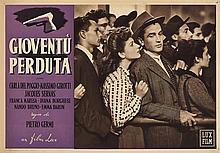 Lotto di 93 fotobuste di film italiani