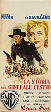 La storia del generale Custer (They died with their boots on) con Errol Flynn