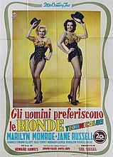 Gli uomini preferiscono le bionde (Gentlemen prefers Blondes) con Marilyn Monroe
