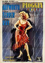 Pioggia (Miss Sadie Thompson) con Rita Hayworth