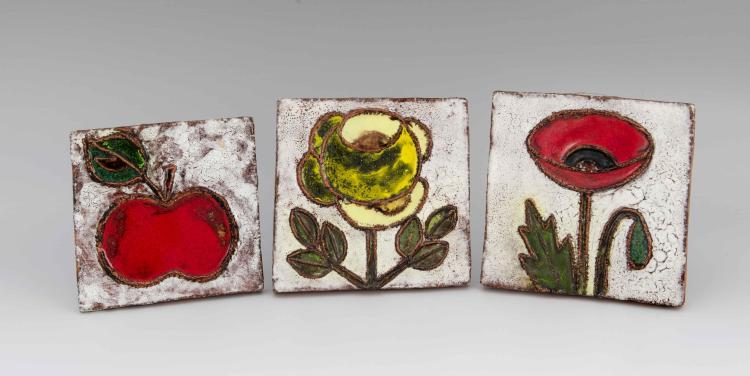weichberger heide 3 wandkacheln rote tulpe gelbe rose r. Black Bedroom Furniture Sets. Home Design Ideas