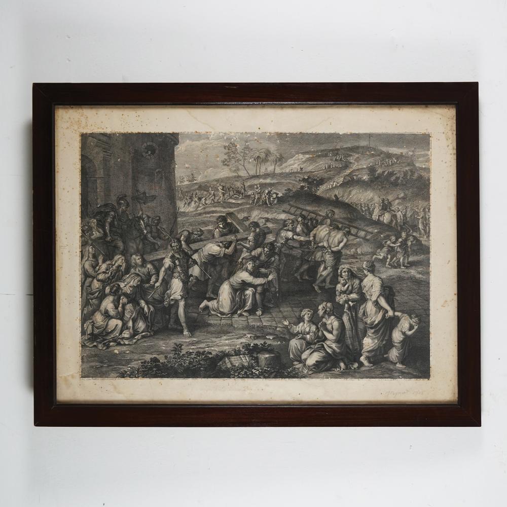 2 18th century engravings