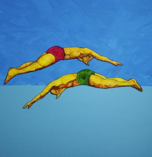 Beddru - Couple of Divers