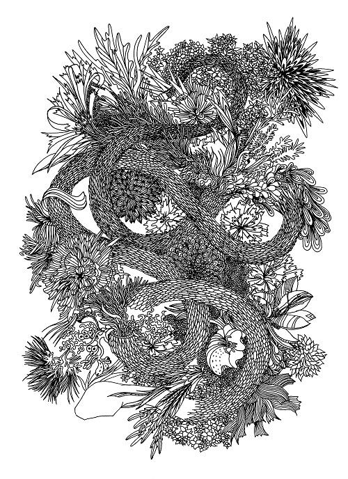 Fabien Huleux  - Flower Snake