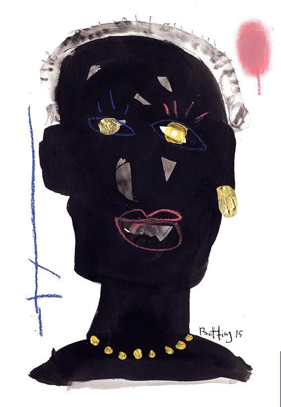 Francois Betting - Tete noir