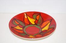 1960/70's poole pottery bowl 27cm diameter
