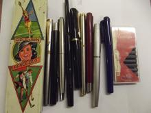 Collection of good quality pens