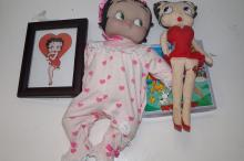 A large collection of Betty Boop