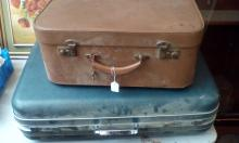 Vintage Antler suitcase together with a further suitcase