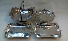 4x good quality silver plated ware