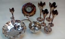 Collection of silver plated ware