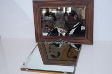 Laurel and Hardy wall mirror