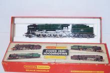 Boxed Hornby steam engine 'Silver Seal Locomotive'