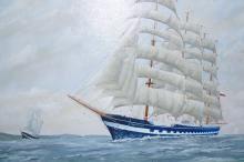 Oil on board by Harry Haysham
