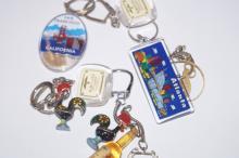 8 Novelty key rings