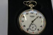 Sekonda 18 jewel pocket watch