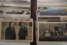 Postcard album to include Churchill postcards