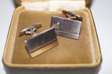 Georg Jensen silver cuff-links (Denmark)