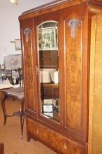 Edwardian mirrored wardrobe