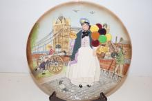 Cabinet plate, boxed, Royal Doulton 'Diddy Penny Farthing' D6666