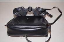 Cased set of field glasses