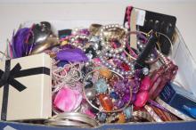 Large assortment of costume jewellery