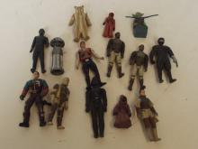 Collection of fourteen Star Wars figures and others
