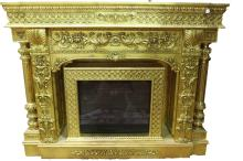 [OTHER]A EUROPEAN STYLED FIREPLACE L:75.5
