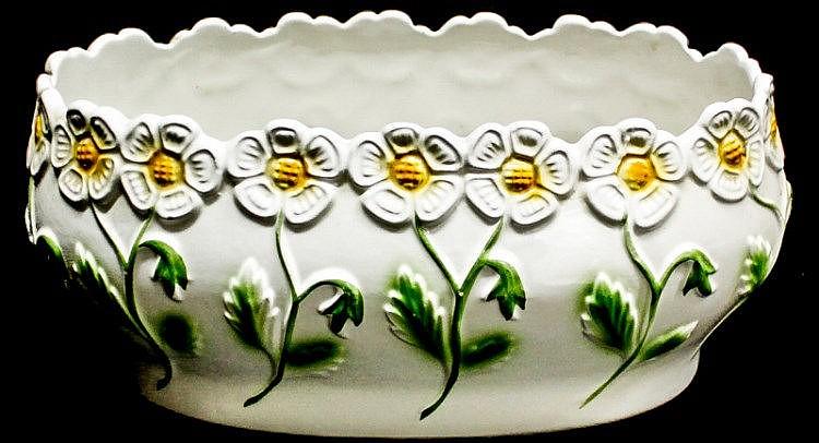 Jardinera de mesa en cer mica primera mitad del siglo xx - Jardineras de ceramica ...
