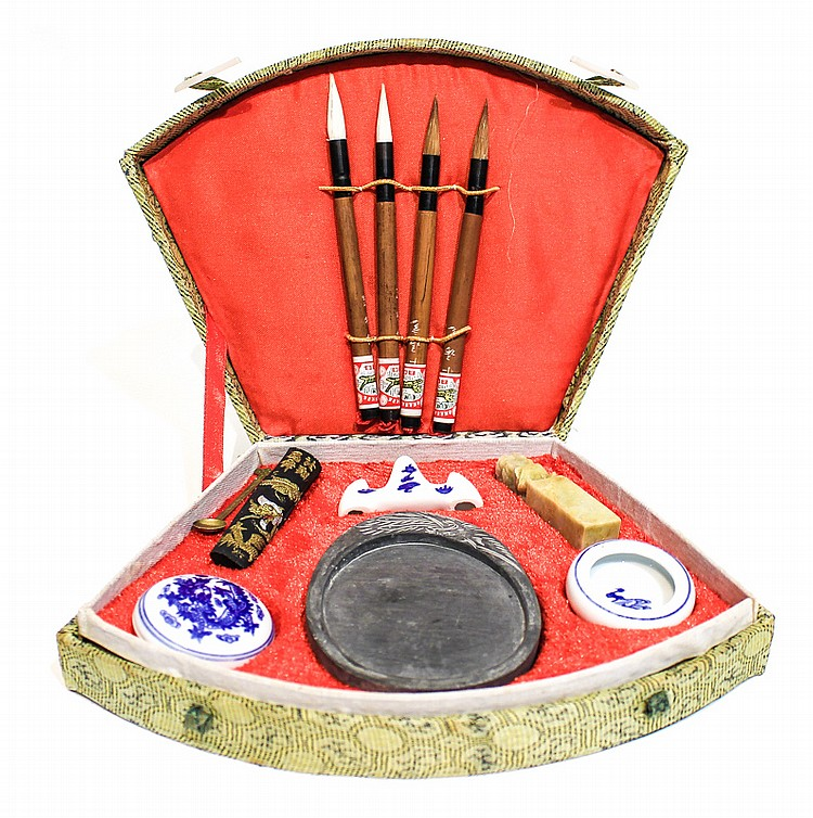 chinese writing set Products 1 - 36 of 36  chinese calligraphy and japanese calligraphy are artistic and rewarding  hobbies gifts of the orient has all the equipment you need for.