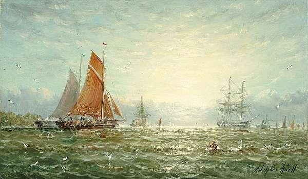 William Adolphus Knell (British, 1805-1875)