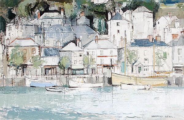 George Hammond Steel (British, 1900-1960) 'East Looe'