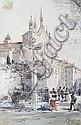 Emmanuel Costa (French, 1833-1921) Le monastère de Cimiez, Nice, Emmanuel Costa, Click for value