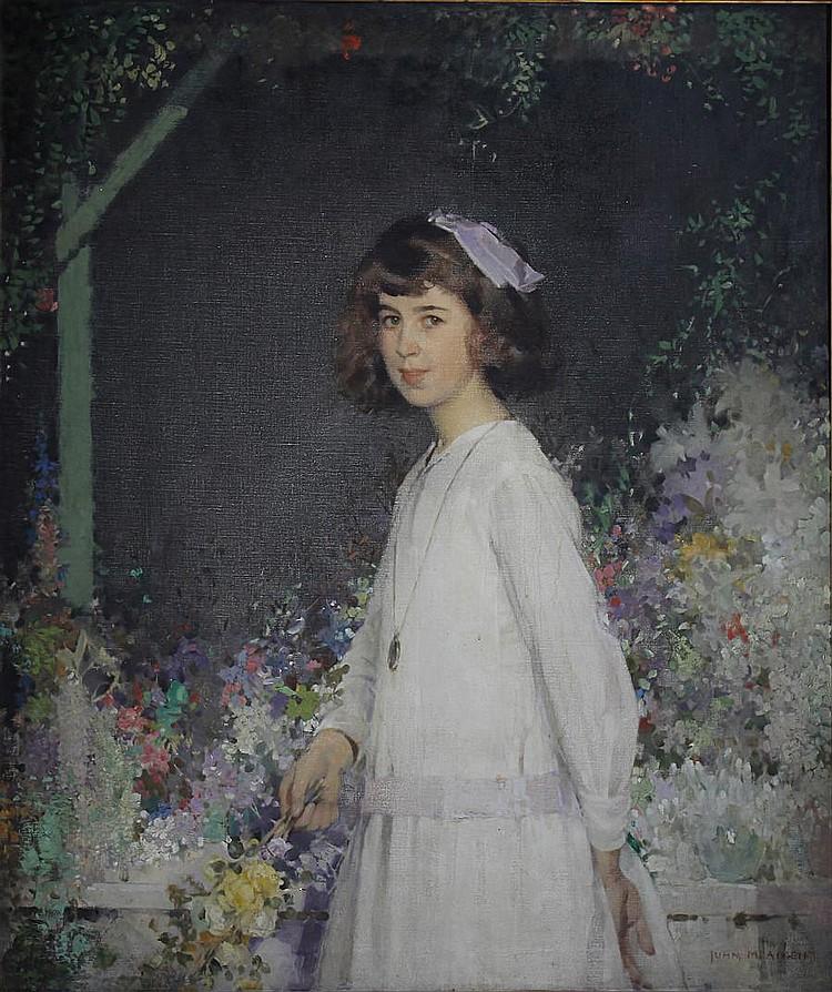 John MacDonald Aiken (British, 1880-1961) Portrait of Barbara