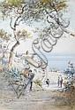 Emmanuel Costa (French, 1833-1921) La Tour Bellanda, Nice, Emmanuel Costa, Click for value