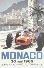 MICHAEL TURNER (1934- ) MONACO 23e GRAND PRIX. 1965.